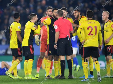 Editorial image of Leicester City v Watford, Premier League, Football, King Power Stadium, Leicester, UK - 04 Dec 2019