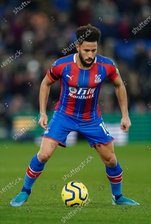 Stock Picture of Andros Townsend of Crystal Palace in action