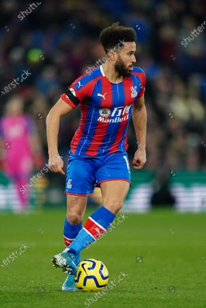 Andros Townsend of Crystal Palace in action