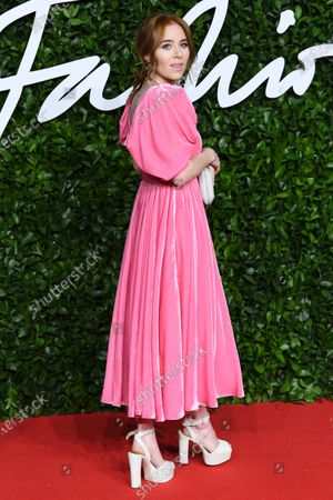 Editorial image of The Fashion Awards, Arrivals, Royal Albert Hall, London, UK - 02 Dec 2019