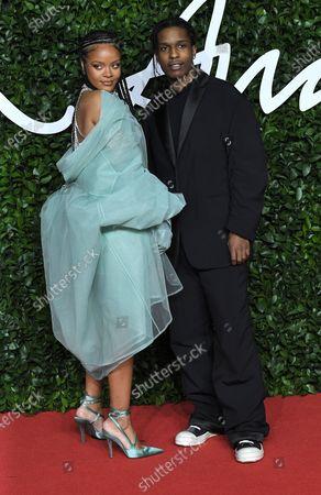 Rihanna and ASAP Rocky