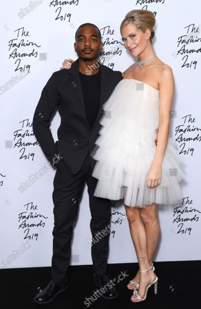 Editorial picture of The Fashion Awards, Press Room, Royal Albert Hall, London, UK - 02 Dec 2019