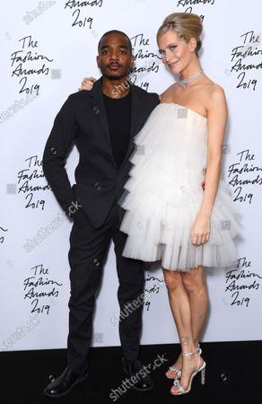 Editorial image of The Fashion Awards, Press Room, Royal Albert Hall, London, UK - 02 Dec 2019