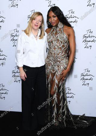 Editorial photo of The Fashion Awards, Press Room, Royal Albert Hall, London, UK - 02 Dec 2019
