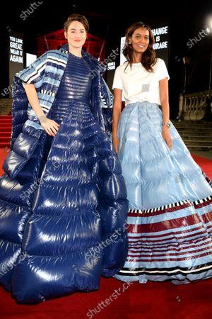 Shailene Woodley and Liya Kebede