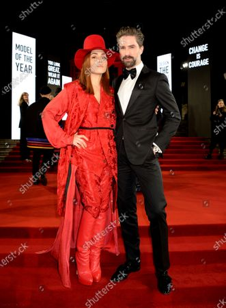 Stock Image of Noomi Rapace and Jack Guinness