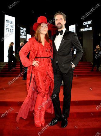 Editorial image of The Fashion Awards, Arrivals, Royal Albert Hall, London, UK - 02 Dec 2019
