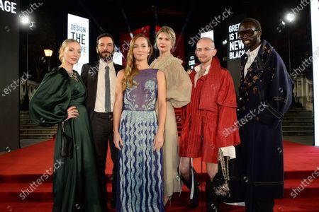 Stock Photo of Poppy Clara Paget, Tiziano Guardini, Johanna Maggy, Caroline Smithson, Patrick McDowell and Wilson Oryema