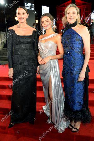 Caroline Rush, Niomi Smart and Stephanie Phair