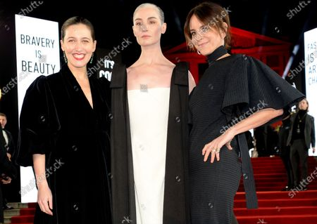 Emilia Wickstead, Erin O'Connor and Alison Loehnis