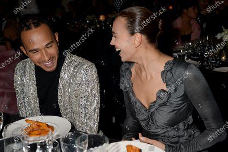 Lewis Hamilton and Irina Shayk