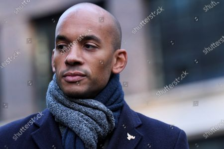 Stock Picture of Chuka Umunna addresses campaign volunteers before canvassing to encourage people to vote for Liberal Democrat Umunna as the Remain candidate in the area.