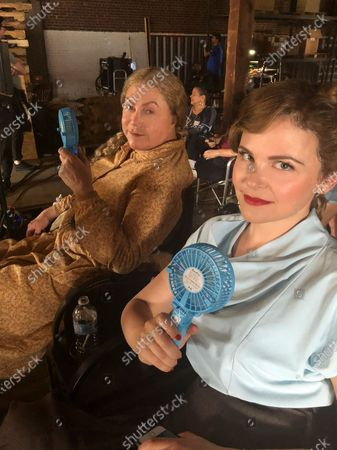 Kathleen Turner as Miss Mary Shaw and Ginnifer Goodwin as Genevieve