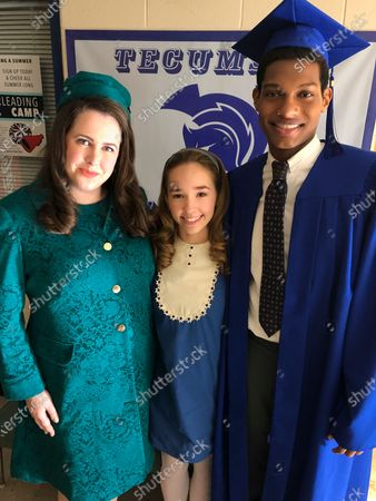 Mary Lane Haskell as Helen Cunningham, Holly Taylor as Delilah Covern and Shane Paul McGhie as Lincoln Dollarhyde