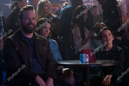 Dallas Roberts as Aaron and Kimberly Williams-Paisley as Emily