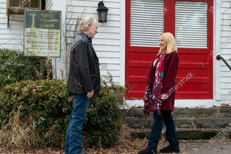 Stock Photo of Timothy Busfield as Logan Cantrell and Patricia Wettig as Harper Cantrell