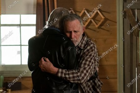 Timothy Busfield as Logan Cantrell and Don Henderson Baker as Older Otis