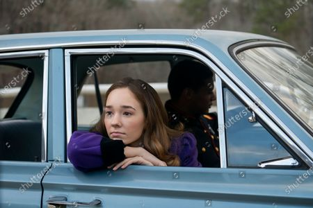 Holly Taylor as Delilah Covern and Shane Paul McGhie as Lincoln Dollarhyde