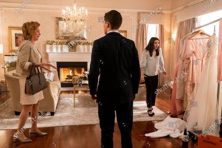 Melissa Leo as Amelia Meegers, Andy Mientus as Tyler Meegers and Katie Stevens as Lee