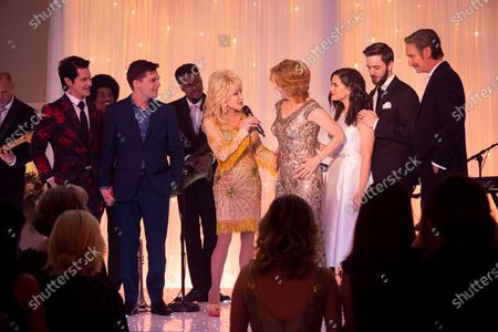 Michael J. Willett as Cole Evans, Andy Mientus as Tyler Meegers, Dolly Parton, Melissa Leo as Amelia Meegers, Katie Stevens as Lee, Robbie Cox as Digby Haygood and Ray McKinnon as Roy Meegers