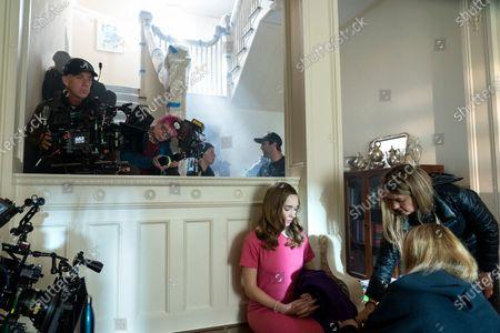 Ramon Engle Cameraman and Holly Taylor as Delilah Covern