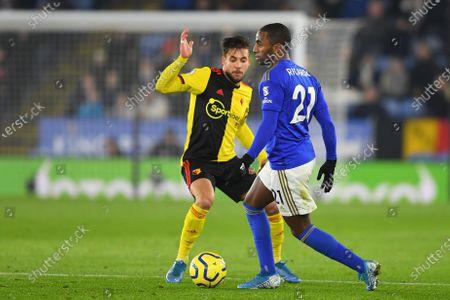 4th December 2019, King Power Stadium, Leicester, England; Premier League, Leicester City v Watford : Ricardo Pereira (21) of Leicester City Credit: Jon Hobley/News Images