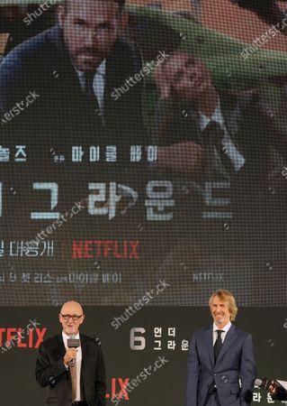 Editorial picture of '6 Underground' film premiere, Seoul, South Korea - 02 Dec 2019