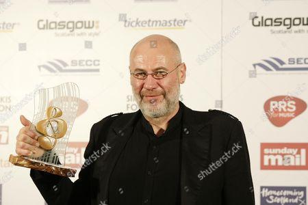 Derek Dick aka Fish who won Scottish Rock Award