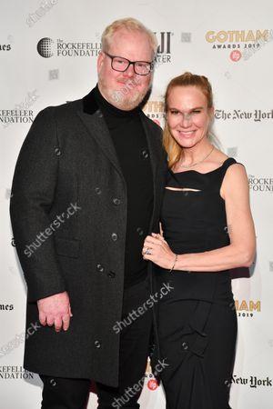 Stock Photo of Jim Gaffigan and Jeannie Gaffigan