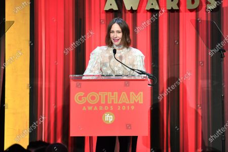 Editorial picture of 29th Annual IFP Gotham Awards, Inside, Cipriani Wall Street, New York, USA - 02 Dec 2019
