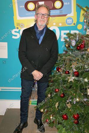 Editorial picture of John Helliwell at Radio Hamburg 2, Germany - 02 Dec 2019