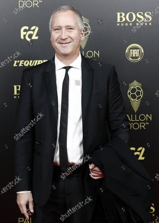 Stock Photo of AS Monaco FC's Russian former vice president Vadim Vasilyev arrives for the Ballon d'Or ceremony at Theatre du Chatelet in Paris, France, 02 December 2019.