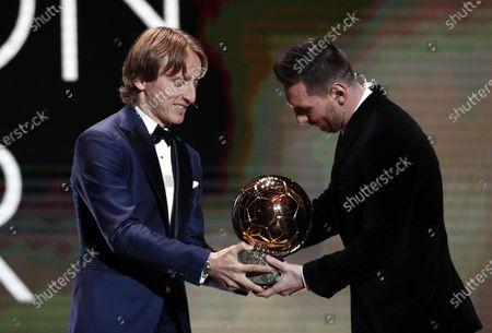 Editorial photo of Ballon d'Or 2019, Paris, France - 02 Dec 2019