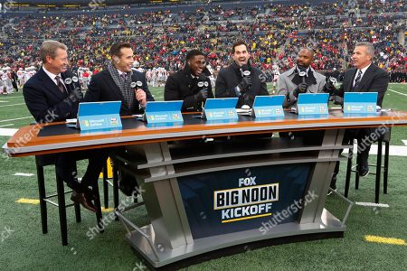 Editorial picture of Ohio St Michigan Football, Ann Arbor, USA - 30 Nov 2019