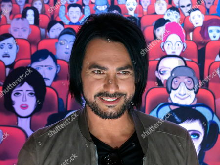 """Stock Photo of Chile's musician Beto Cuevas poses for a photo during a press conference promoting his album """"Colateral"""" in Mexico City, . Cuevas launched his album on Nov. 22"""