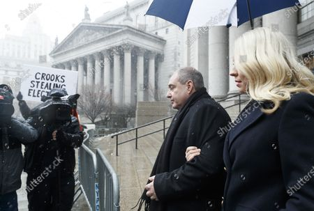 Editorial image of Lev Parnas Arrives to Court for Hearing, New York, USA - 02 Dec 2019