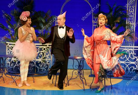 Annie Southall as Dulcie, Adrian Edmondson as Lord Brockhurst, Izzy van Randwyck as Lady Brockhurst