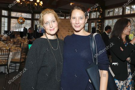 Alexandra Wentworth and Christy Turlington