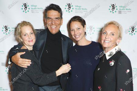 Alexandra Wentworth, Dr. Tarek Meguid, Christy Turlington and Sharon Jacob