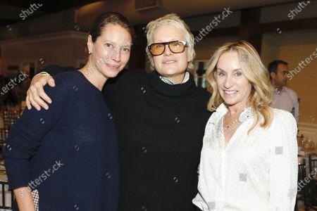 Christy Turlington, Nancy Jarecki and Tracy Pollan