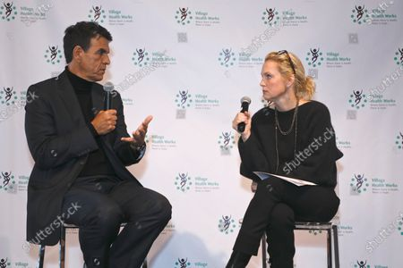 Dr. Tarek Meguid and Alexandra Wentworth