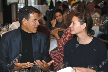 Stock Picture of Dr. Tarek Meguid and Christy Turlington