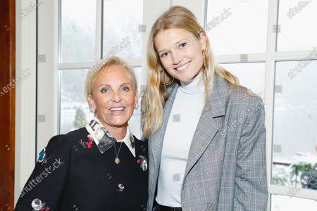 Sharon Jacob and Toni Garrn