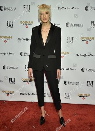 Agyness Deyn attends the Independent Filmmaker Project's 29th annual IFP Gotham Awards at Cipriani Wall Street, in New York