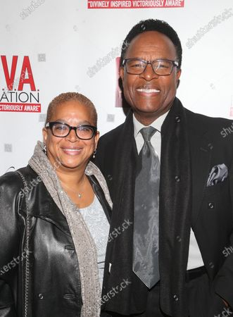 Stock Picture of Helen Young and William Allen Young