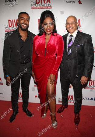 Sheryl Lee Ralph, Vincent Hughes and guest