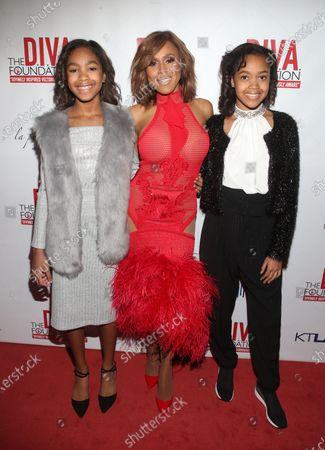 Kaila Michelle Stephens, Deborah Cox and Sumayah Stephens