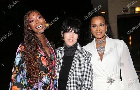 Brandy Norwood, Diane Warren and LisaRaye McCoy