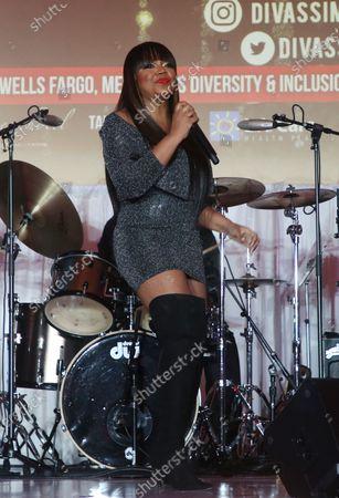 Editorial photo of DIVAS: Simply Singing, Taglyan Complex, Los Angeles, USA - 01 Dec 2019