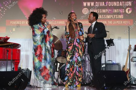 Sheryl Lee Ralph, Brandy Norwood and William Allen Young